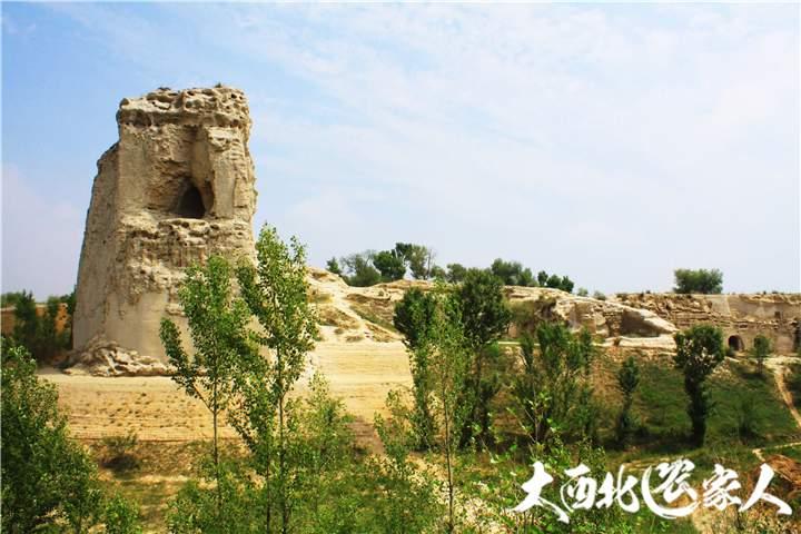 陕西榆林靖边县统万城遗址 中国古代城市防御体系代表